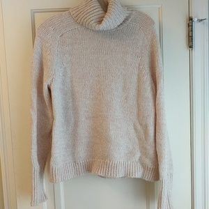J.crew marled light pink sweater ❤️